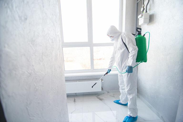 Moderne Desinfektionsarbeiten - EDA Gebäudereinigung Markdorf